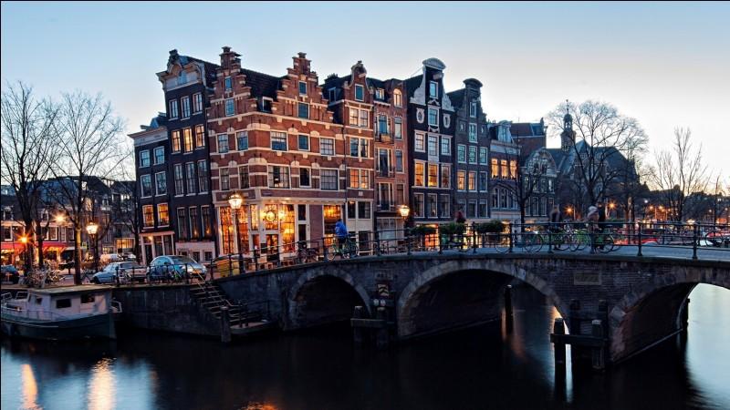 Amsterdam - Combien compte-t-on de croix sur le drapeau ?