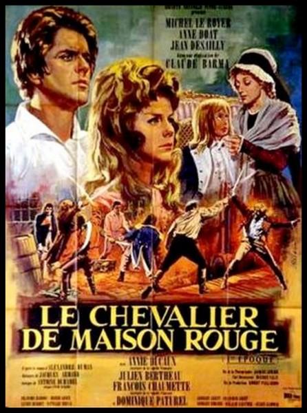 """Qui a écrit """"Le chevalier de Maison-Rouge"""" ?"""