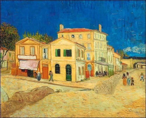 """Qui a peint """"La maison jaune"""" ?"""