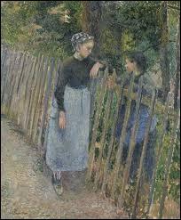 """""""La conversation"""" est un tableau peint par ..."""