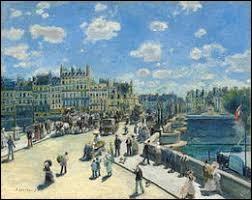 """""""Pont Neuf"""" est un tableau peint par ..."""