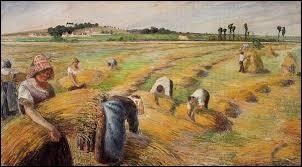 """""""La Moisson"""" est un tableau ..."""