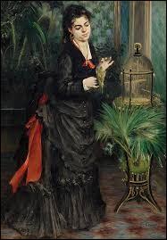 """""""Femme à la perruche """" est un tableau réalisé par ..."""
