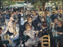 """Lequel de ces deux peintres à peint ce tableau : """"Bal au moulin de la Galette"""" ?"""
