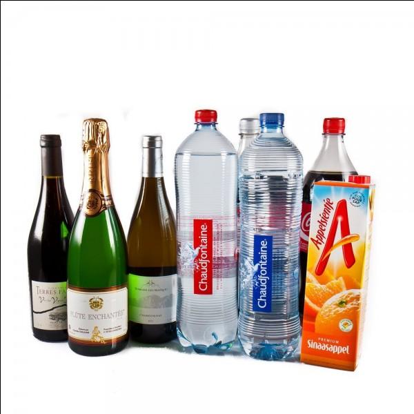 Choisis une boisson.