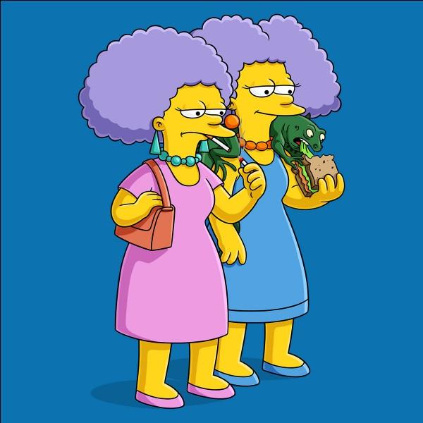 Comment l'iguane de Selma et Patty s'appelle-t-il ?