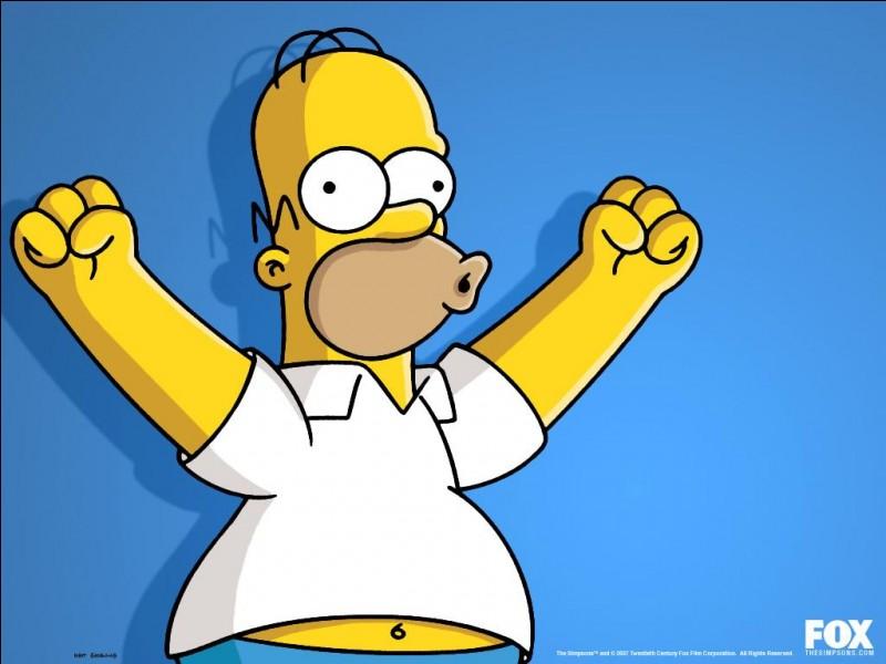 Combien de kilos Homer pèse-t-il ?