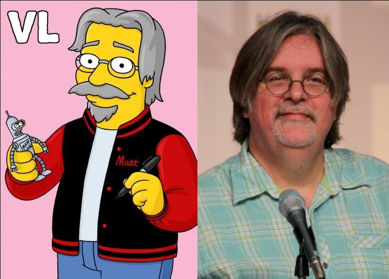 Quel est le prénom du créateur des Simpson ?
