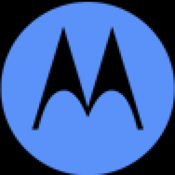 À quelle entreprise spécialisée dans l'électronique et les télécommunications ce logo bicolore appartient-il ?