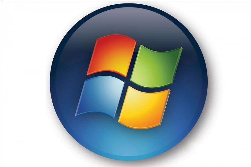 À quelle gamme de système d'exploitation cet autre logo coloré appartient-il ?