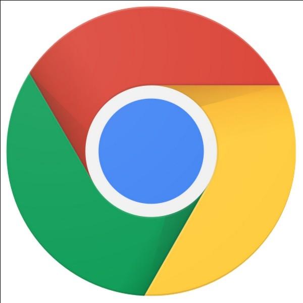 À quel navigateur web propriétaire ce logo coloré appartient-il ?