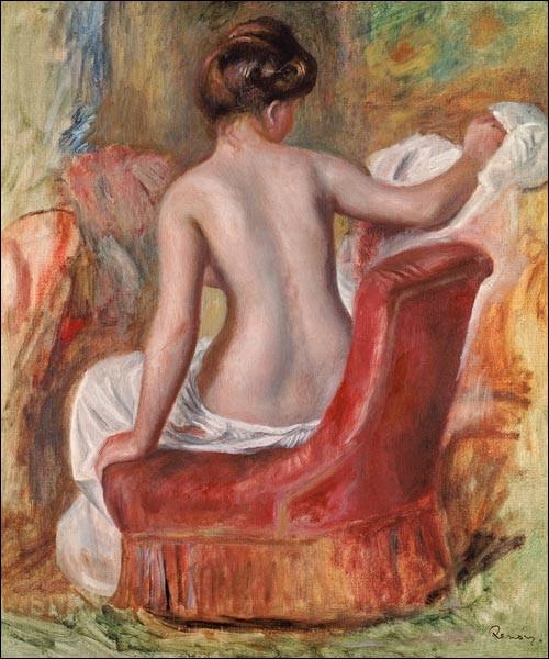"""Qui a peint """"Femme nue dans un fauteuil"""" ?"""