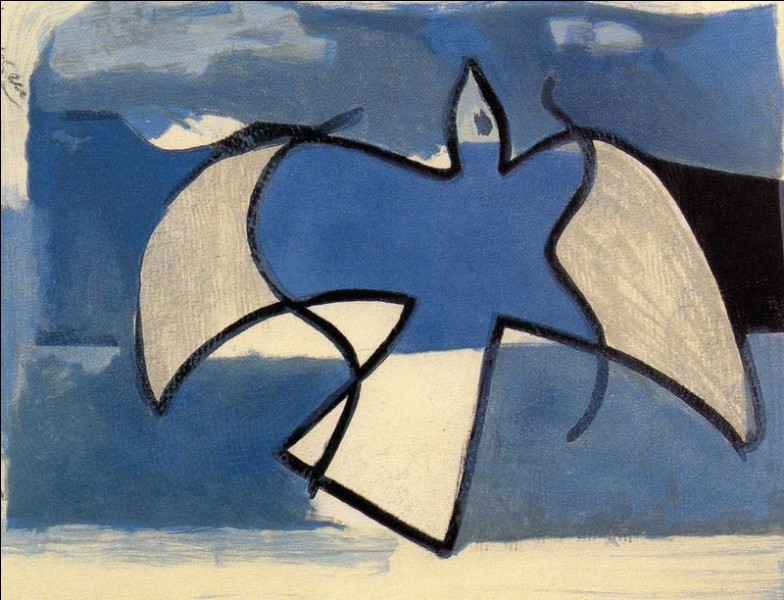 "Qui a peint ""L'oiseau bleu"" ?"
