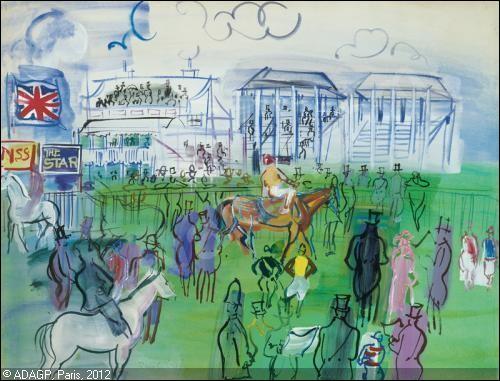"Qui a peint ""Jockeys et turfistes à Epsom"" ?"