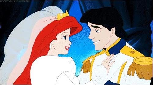 Où se marie Ariel et Eric ?