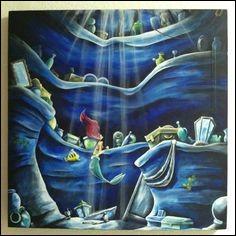 Qu'est-ce que collectionne Ariel dans sa grotte secrète ?