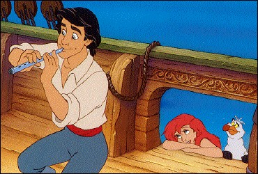 Comment s'appelle l'humain dont elle tombe amoureuse après l'avoir sauvé de la noyade ?