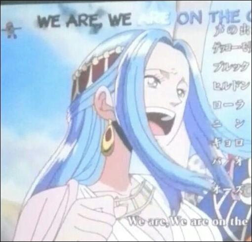 Comment la princesse, que les Mugiwara doivent aider lors de leur voyage, s'appelle-t-elle ?