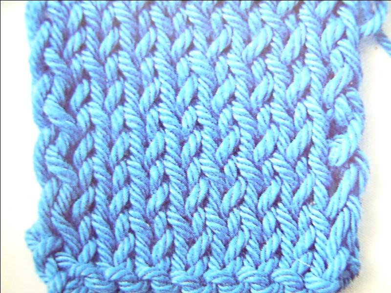 Dans le domaine du tricot, quel est ce point ?