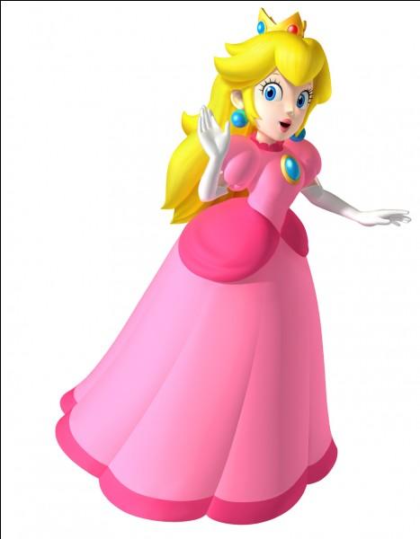 Comment s'appelle le royaume de la princesse Peach ?