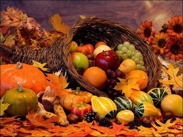 Lequel de ces fruits ne se cueille pas à l'automne ?