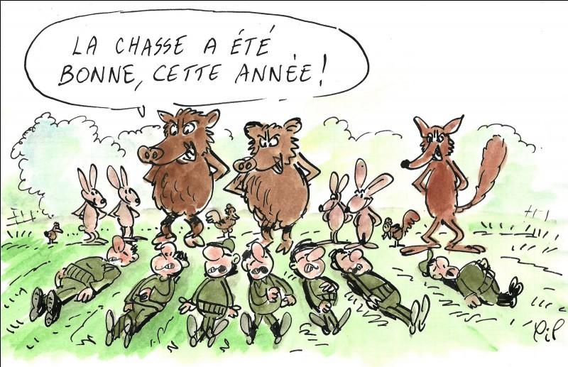 Réponse d'un anti-chasse : quand la chasse est fermée ...