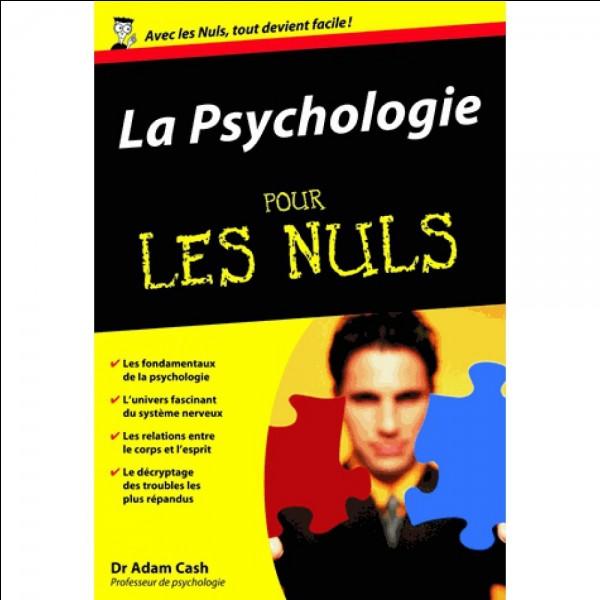 Enfin, il est à noter que nous devons à l'Etat certains de nos états psychologiques :
