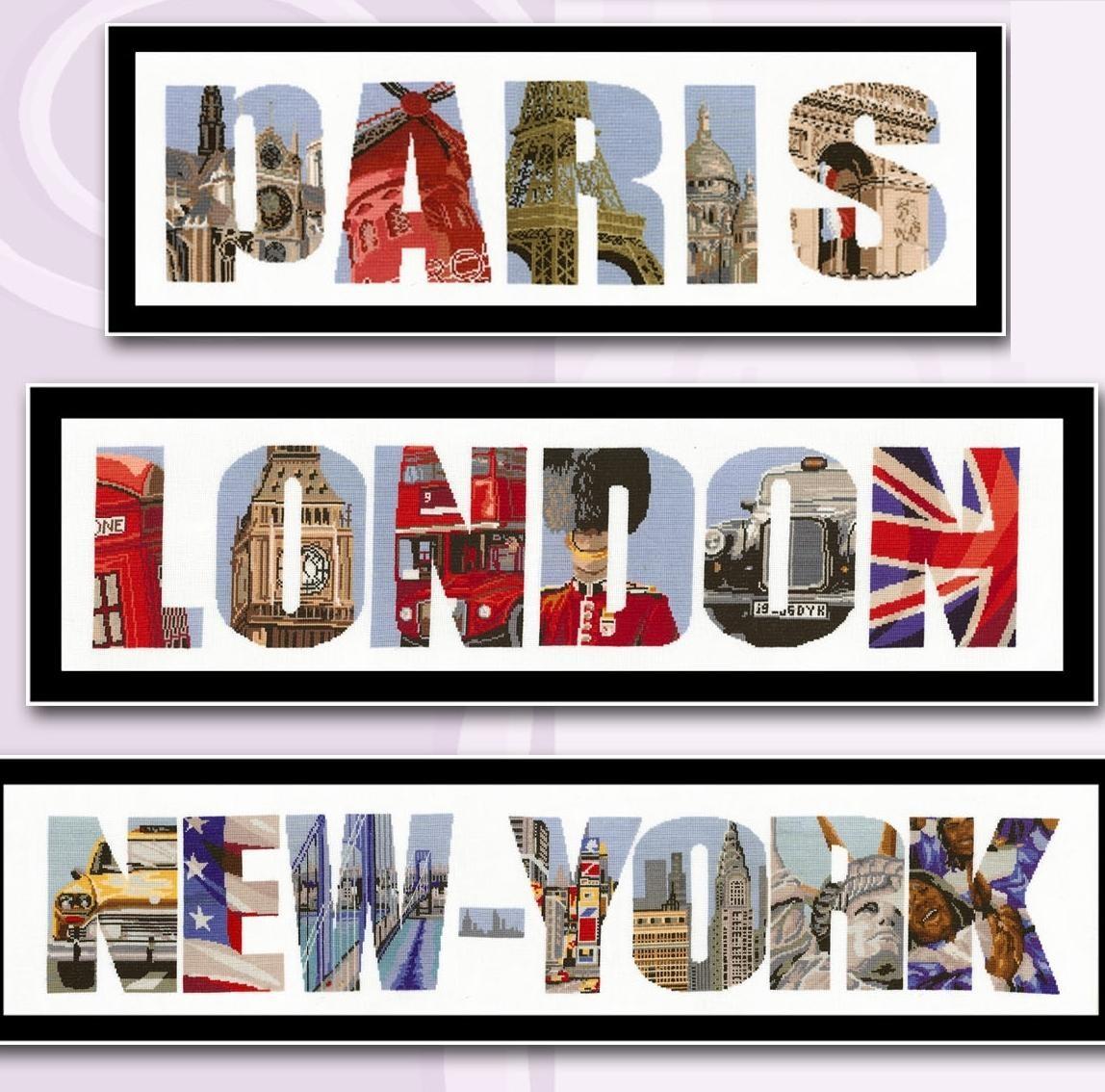 Londres, Paris ou New York ? - Monuments