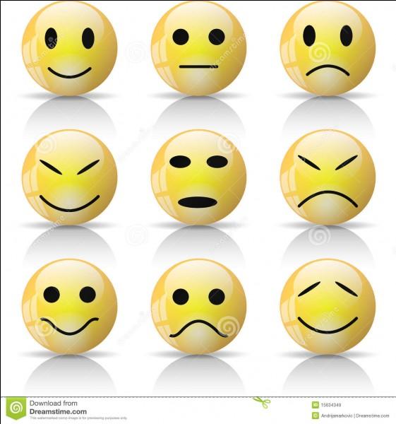Quel est ton humeur habituelle ?