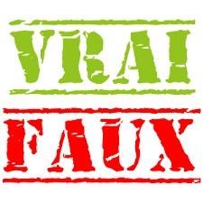 Culture générale : vrai ou faux ? (14)