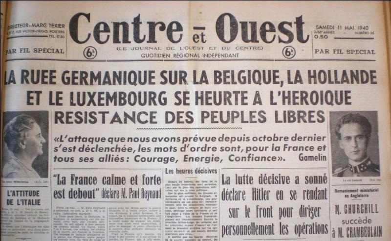 Quand débuta la campagne de France ?