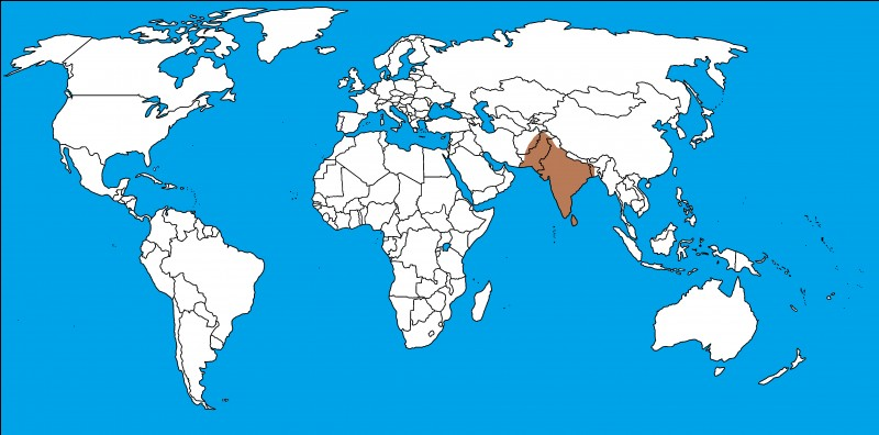S'agit-il des bons territoires de l'empire Maurya ?