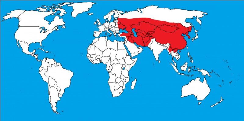 Et enfin, s'agit-il des bons territoires de l'Empire mongol ?