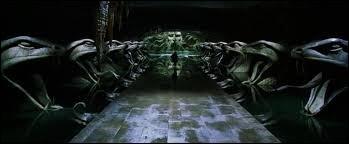 Clique sur le lieu cachant l'entrée de la Chambre des Secrets.
