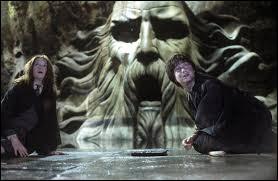 Après avoir tué le Basilic, que fait Harry pour sauver Ginny ?