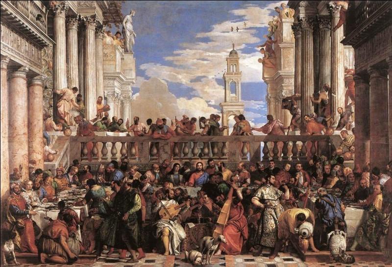 """Qui a peint """"Les Noces de Cana"""" ?"""