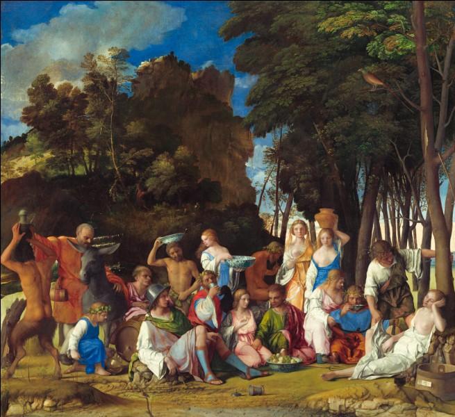 """Qui a peint """"Le Festin des Dieux"""" ?"""