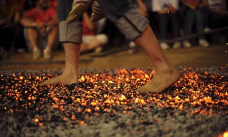 Etre sur des charbons ardents !