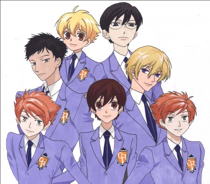 """Comment les jumeaux du manga shojo """"Ouran High School Host Club"""" s'appellent-ils ?"""
