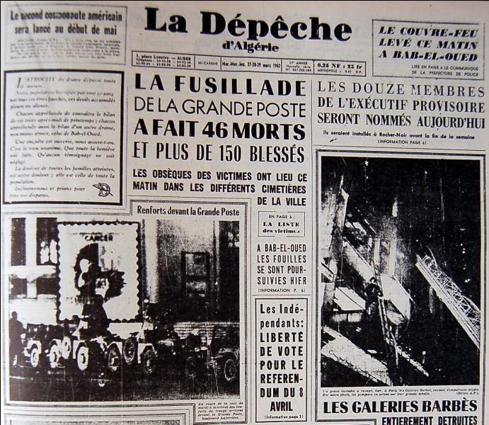 Durant la guerre d'Algérie, dans quelle ville, la bataille causant le plus de morts a-t-elle eu lieu ?