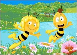 Comment s'appelle l'ami abeille de Maya ?
