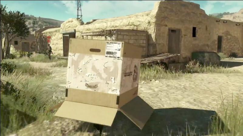 Je suis le protagoniste d'une licence de jeux vidéo d'infiltration bien connue du grand public. Je peux me cacher sous une boîte en carton. Je suis :
