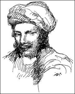 Quel est le nom de ce poète libertin amateur de vin et de plaisirs charnels qui vécut à la fin du VIII ème siècle ?