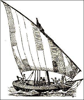 Quel est le nom de ce bateau utilisé depuis le VIII siècle dans l'Océan Indien par les Musulmans et qui pouvait rallier depuis l'Arabie, l'Inde ?