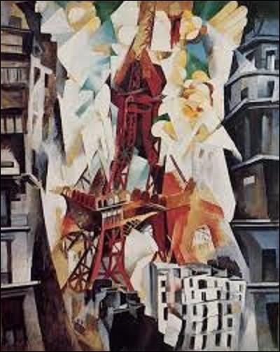 Conservée au musée Solomon R.Guggenheim à New York, ''Tour Eiffel rouge'' est une huile sur toile réalisée en 1911 par un peintre de mouvement néo-impressionnisme, cubisme, orphisme, et d'abstraction. On observera, au milieu de l'oeuvre, la tour Eiffel de couleur rouge tandis que des bâtiments de couleurs gris l'entourent. Quel est le nom de l'artiste qui a créé ce tableau ?
