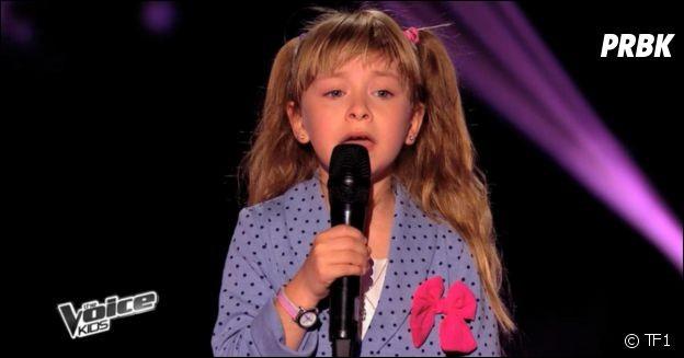 Quelle chanson Gloria a chantée à The Voice Kids ?