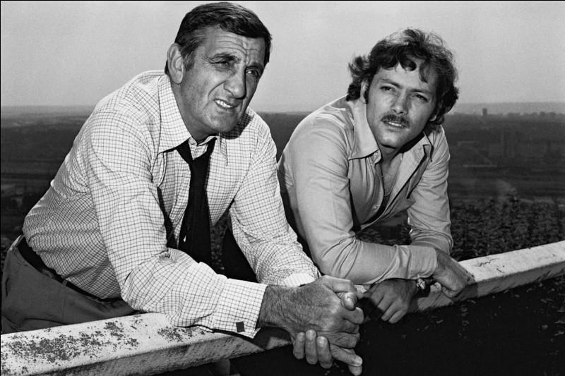 Quel film de Pierre Granier Deferre, réunit ces deux grands acteurs ?