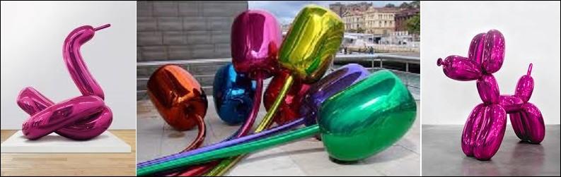 Art - Quel artiste contemporain est notamment connu pour ses Balloon Dogs ?