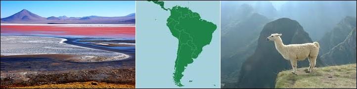 Géographie - Quels sont les deux seuls pays sud-américains n'ayant pas d'accès à la mer ?
