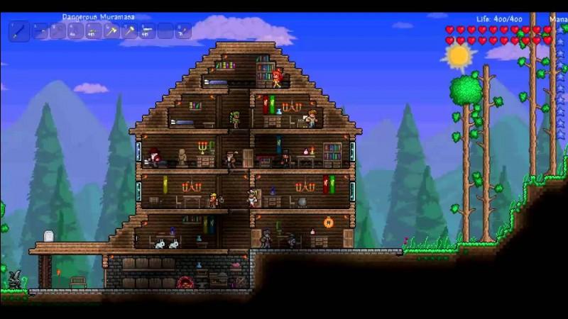 Comment construire une maison pour PNJ ?